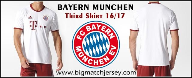 FC Bayern München Third Official 2017 Adidas