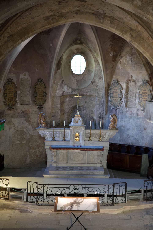 Exposition Cathédrale Haute Vaison-la-Romaine