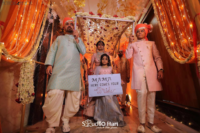 wedding-fictitious-fashion-indian-bride-entry