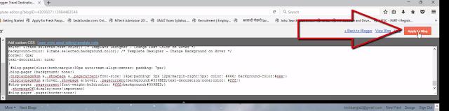 blogger CSS code