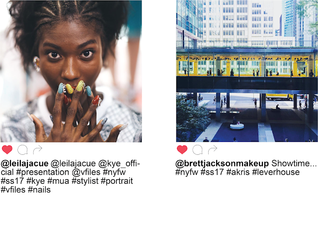 NYFW New York Fashion Week Day Two Instagram