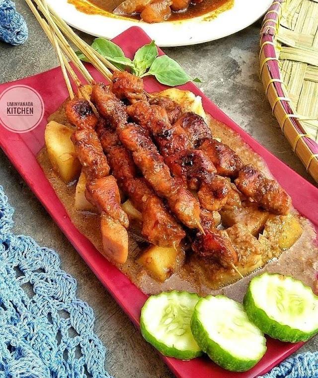 Sate Ayam Special - Resep Olahan Ayam
