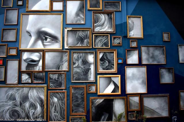 Street Art in Southbank by Skr3am