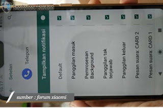 cara mengatasi panggilan masuk tidak muncul di layar hp xiaomi