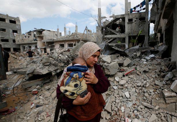 PBB Prihatin Kehancuran Gaza Akibat Serangan Israel, 300 Gedung Hancur, 1.000 Rumah Ambruk