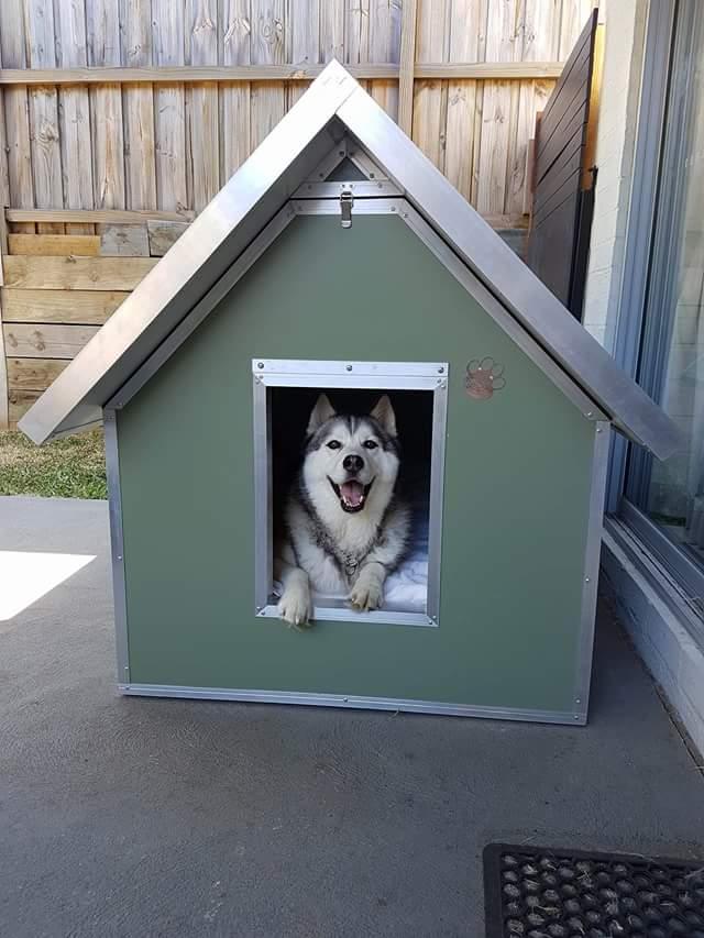 Kumfi Kennels Insulated Dog Kennels Australian Dog Lover