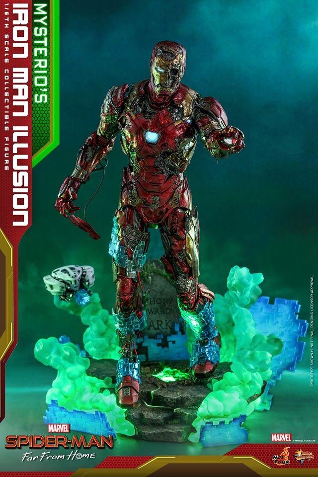 Mysterio's Iron Man Illusion