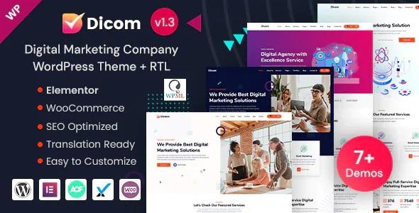 Best SEO & Marketing Agency WordPress Theme
