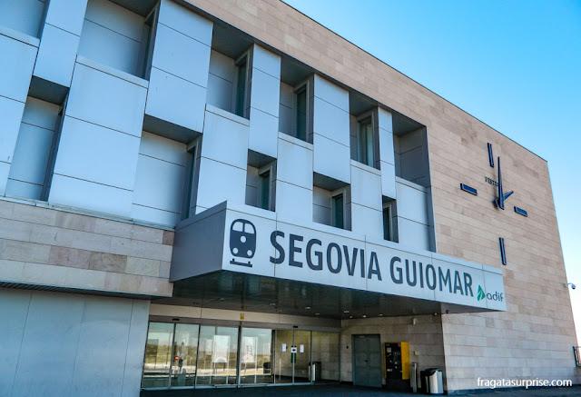 Estação de trens Segóvia-Guiomar, Espanha