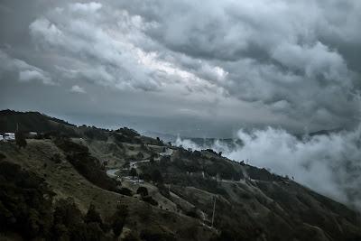 Paisaje de andino, Colombia