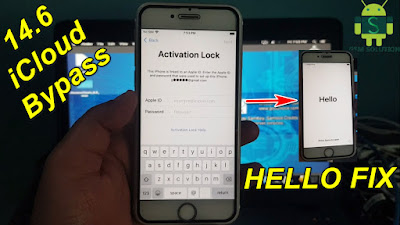 iOS14.6 iCloud Bypass Fix After Rebot Hello Screen Free