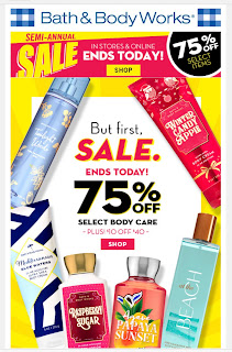 Bath & Body Works | Today's Email - January 19, 2020