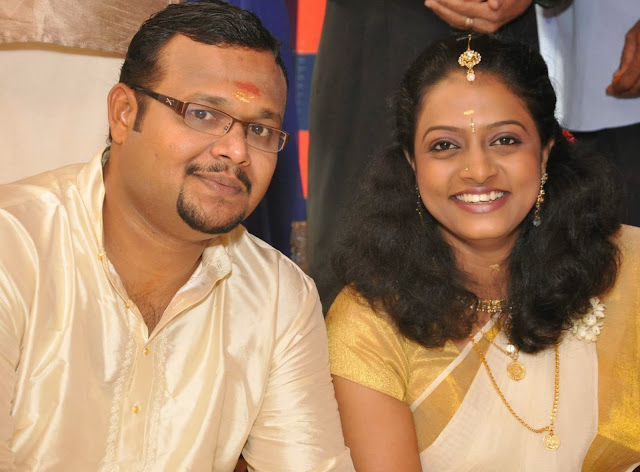 Idea Star Singer Preethi Warrier -Biju Marriage Photos and News