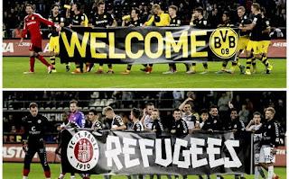 Partido a beneficio de los refugiados