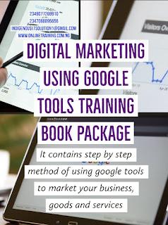 Digital Marketing Using Google Tools Training For Nigerians