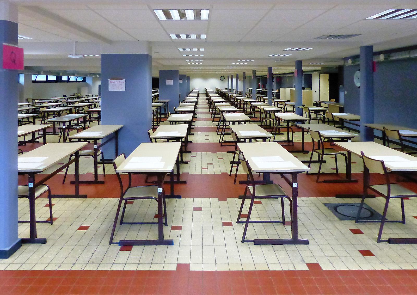 Lycée EIC - Centre d'examens (ex salle DS)