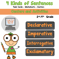 4 Kinds of Sentences Pack Declarative