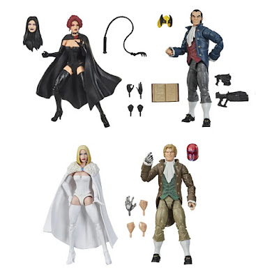 "San Diego Comic-Con 2020 Exclusive Hellfire Club Marvel Legends 6"" Action Figure Box Set by Hasbro"