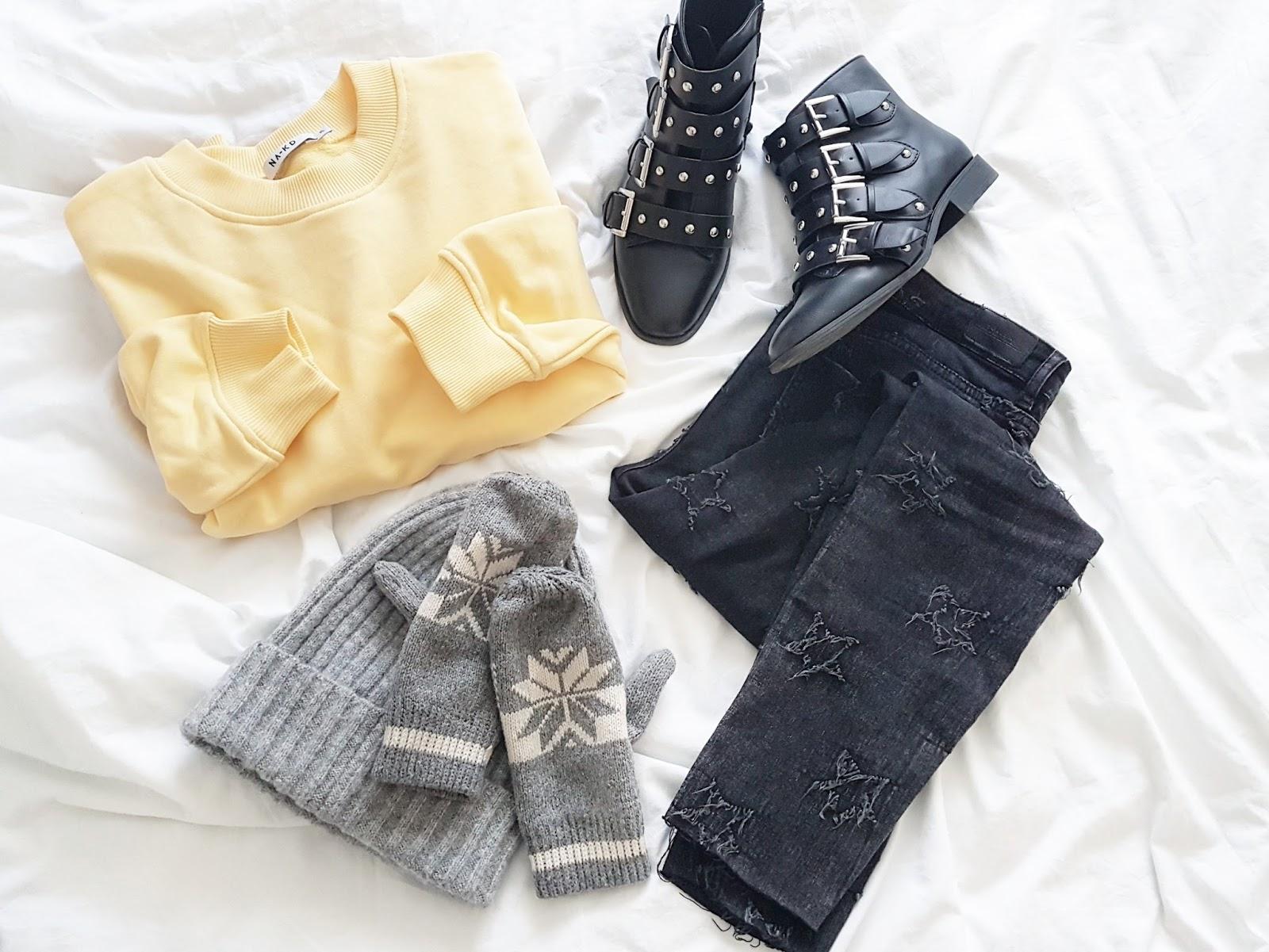 Simply yellow & black czyli casualowy strój dnia