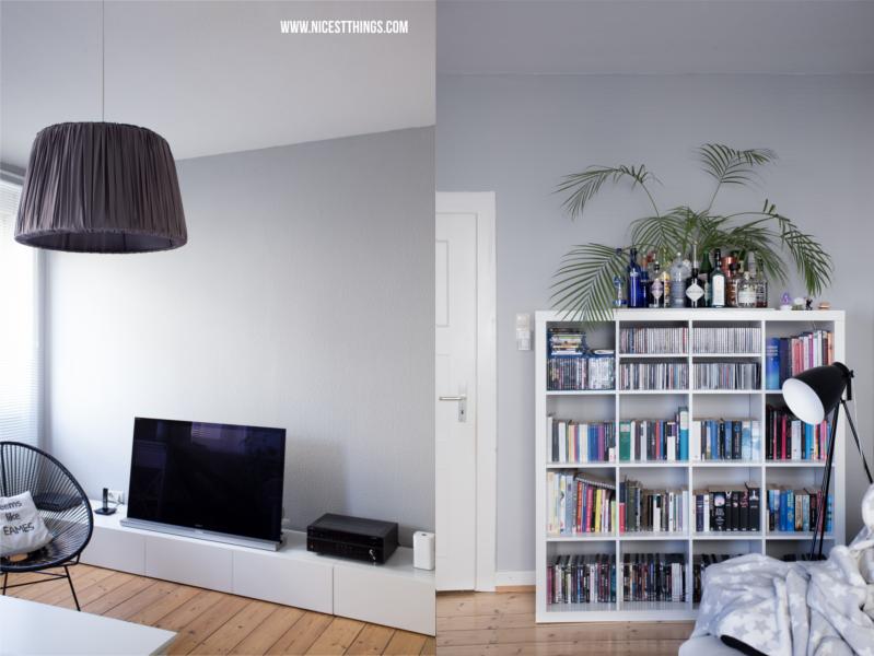 TV Bank weiss Wohnzimmer Lowboard