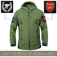 Jual Jaket Waterproof Parka Arsenal