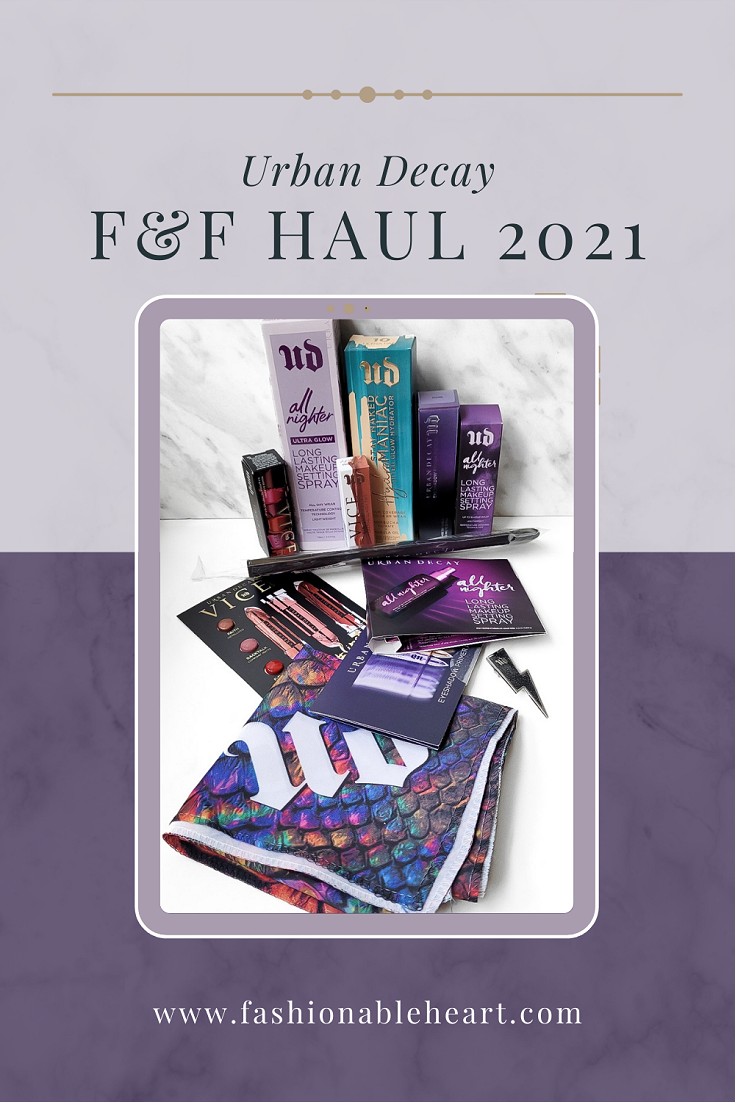 bblogger, bbloggers, bbloggerca, bbloggersca, canadian beauty bloggers, beauty blog, urban decay, friends and family, friends and fanatics, sale, 2021, haul, vice lipstick, lip chemistry, all nighter, all nighter ultra glow, primer potion, samples, hydromaniac, tinted glow hydrator, physique, sheer liar