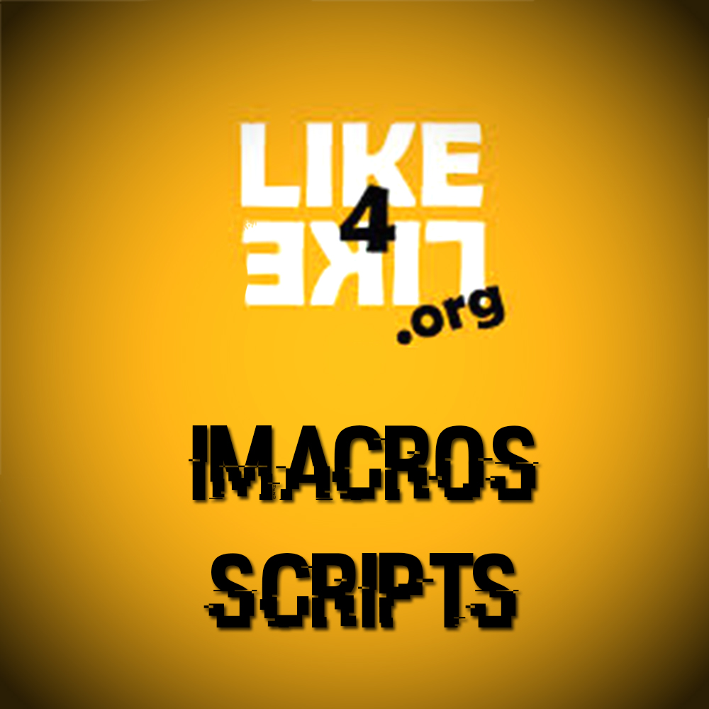 Bot And Script Free Download : Like4like Imacro Script And Antibot 2016  Free Download