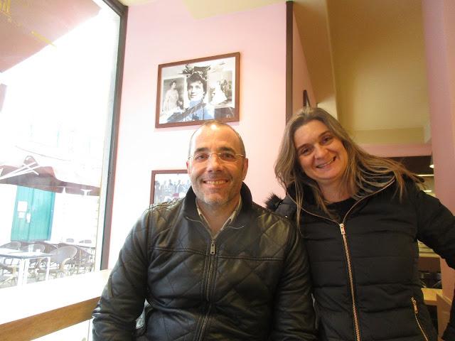 Chef António Pires e Cláudia Silva Mataloto