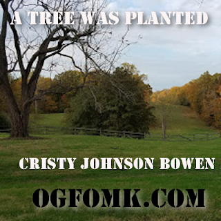 "© Cristy Johnson Bowen / OgFOMK ArTS -- 2018 All Rights Reserved. - Poetry -- ""A Tree Was Planted"""