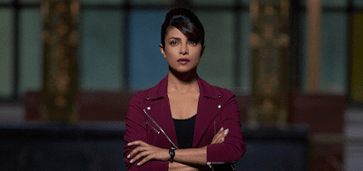 Facebook Cover Of Quantico Season 2 Starting Bollywood Beauty Priyanka Chopra.