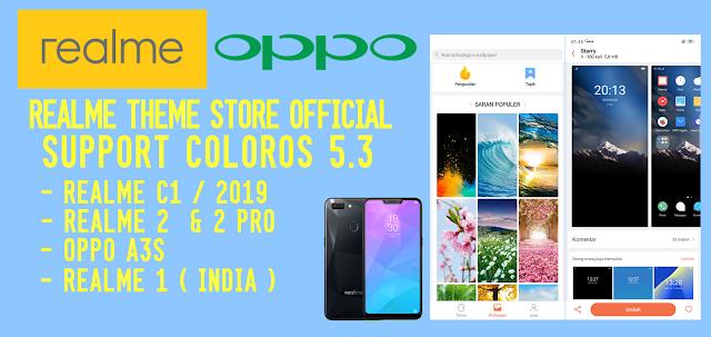 ColorOS Tema & Wallpaper Store v5 0 2 Original Update Terbaru