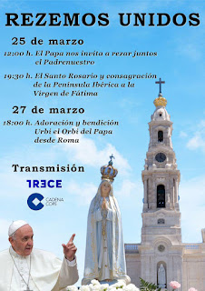 27-III-20. 18:00 h. Oración junto al Papa