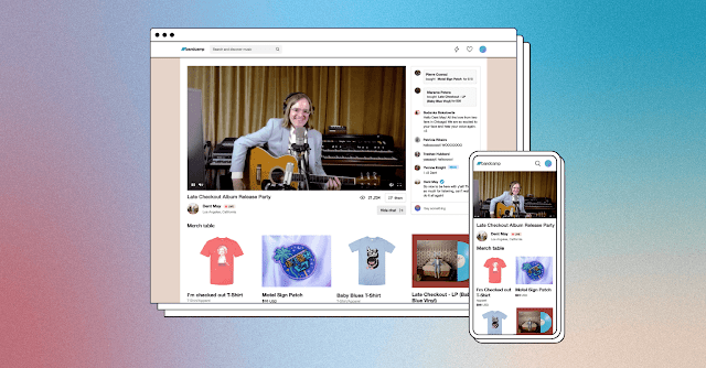 Bandcamp Adds Ticketed Live Streams