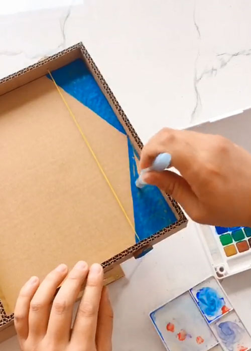 How to Make a Parent-Child Game Player from Cardboard  Home activity