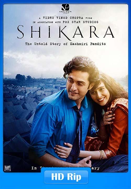 SHIKARA 2020 Hindi 720p HDRip ESub x264 | 480p 300MB | 100MB HEVC