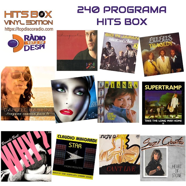 240 PROGRAMA HITS BOX VINYL EDITION - TOPDISCO RADIO