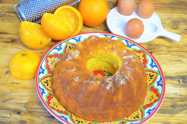 pastel de naranja, postres de naranja, tarta de naranja, torta de naranja, las delicias de Mayte,