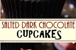 SALTED DARK CHOCOLATE CUPCAKES
