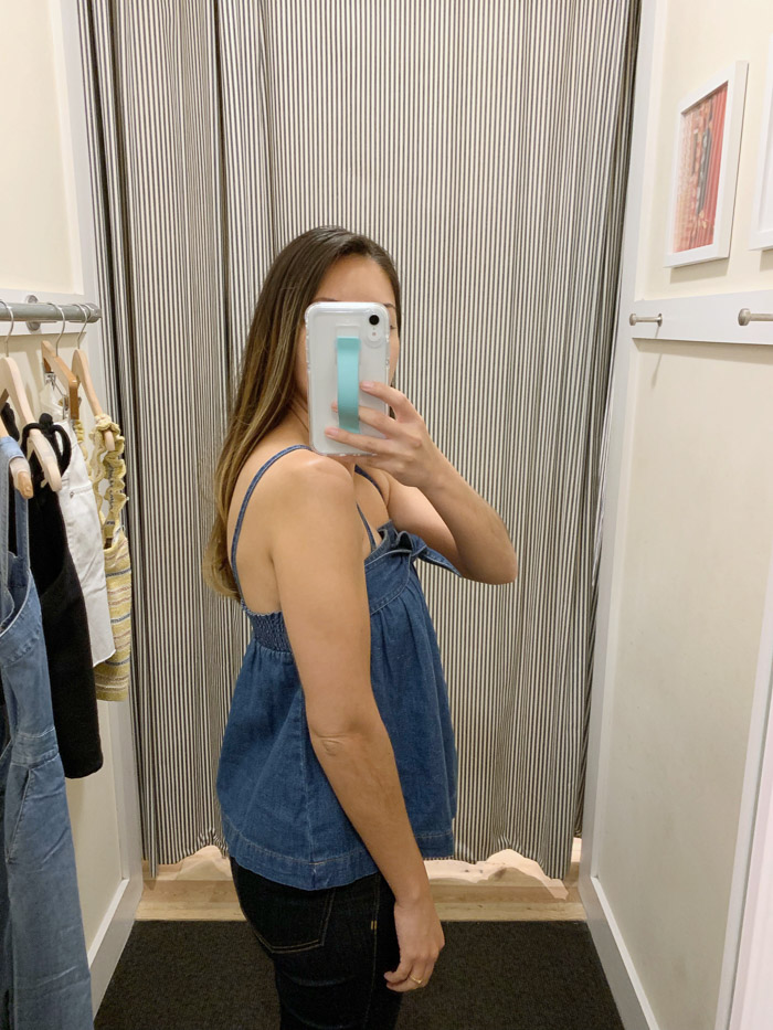 cute denim top
