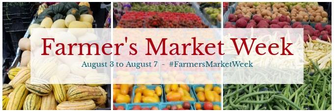 Farmer's Market Week banner