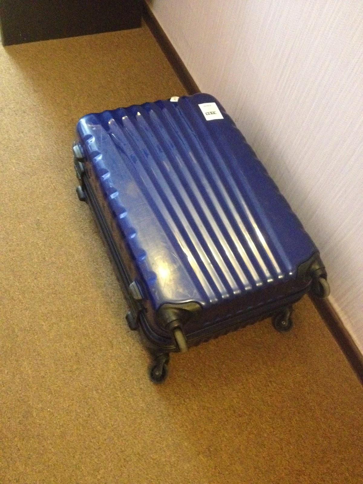 アゼルバイジャンでスーツケース消失後に発見