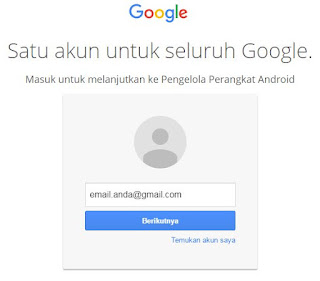 cara login gmail