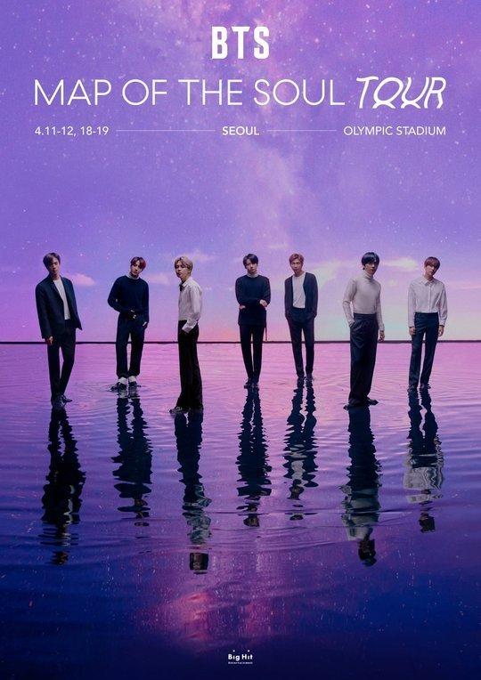 Big Hit, coronavirüs sebebiyle BTS'in Nisan konserlerini iptal etti