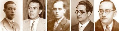 Cherta, Comas, Ribera, Dr. Sunyer y Dr. Vallvé