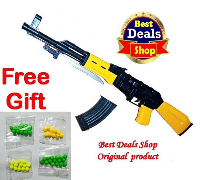 Big Toy Ak47 gun For Kids toy gun with bullet Ak 47 boys toy gun