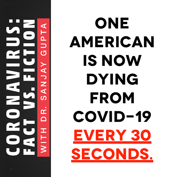One American is now dying from Covid-19 every 30 seconds.