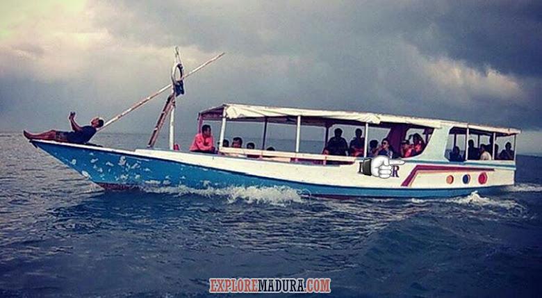 perahu jelajah menuju gili labak dan pantai sembilan gili genting