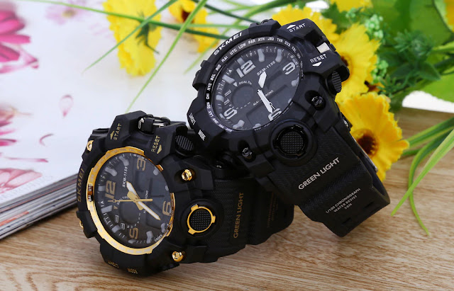 Coupon SKMEI 1155 Men LED Digital Quartz Watch