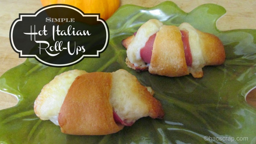Easy Recipe for Hot Italian Roll Ups
