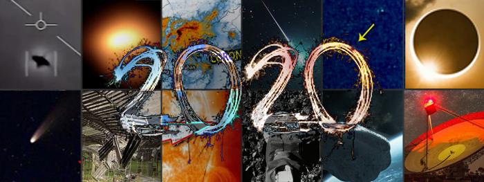 Os Grandes Fatos Astronômicos de 2020 - retrospectiva 2020